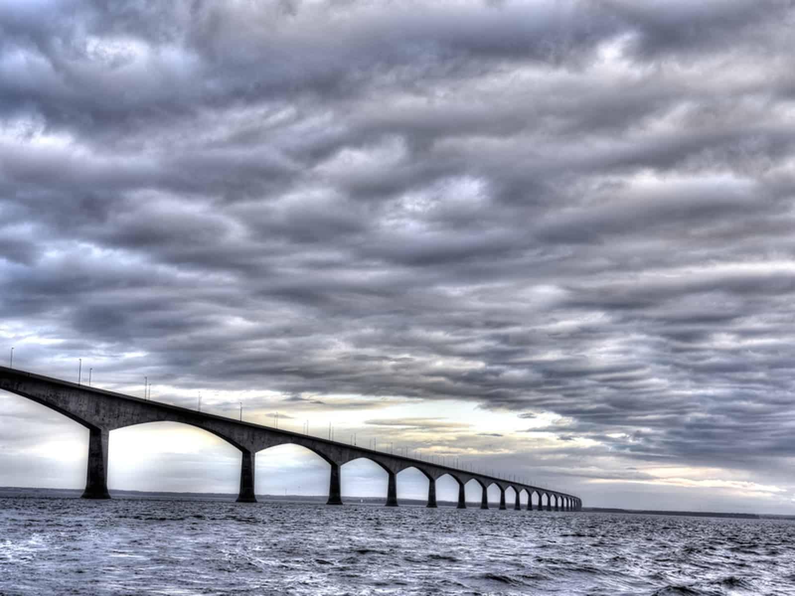 Bis heute zählt die Confederation Bridge als eine der größten Meisterleistungen kanadischer Ingenieurskunst.