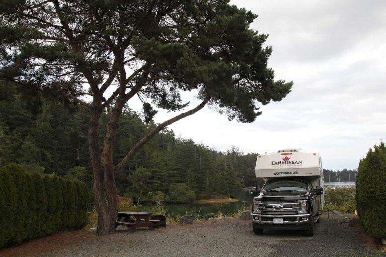 Camper im Pedder Bay RV Resort