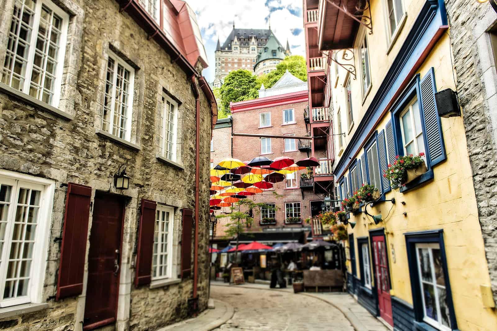 Das Petit Champlain, das vermutlich älteste Geschäftsviertel ganz Nordamerikas.