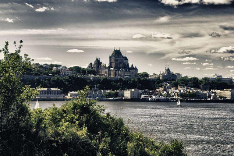 Québec City Stadtansicht