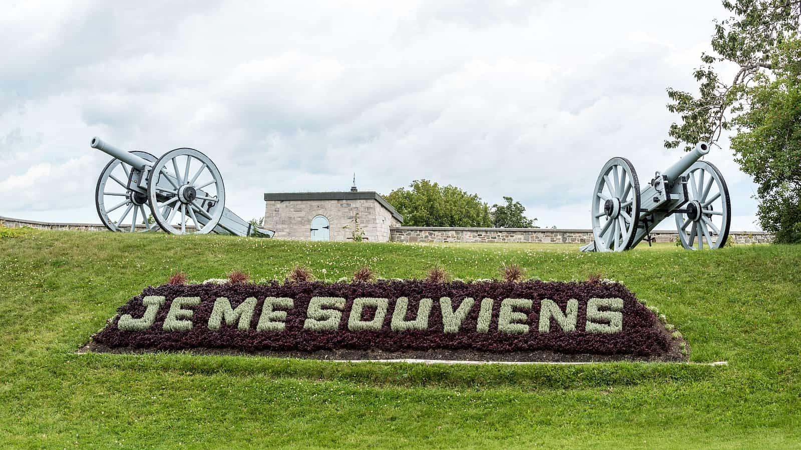 Die Zitadelle von Québec, Touristenattraktion und Heimat des Royal 22e Régiment der kanadischen Armee.