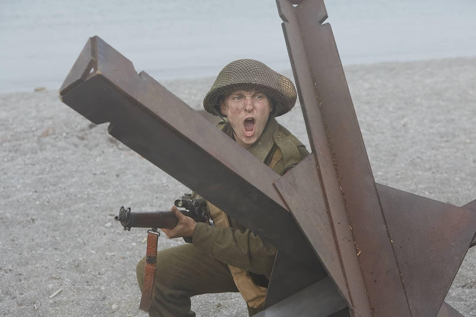 Juno Beach war der Strandabschnitt bei der Landung in der Normandie, in dem viele Kanadier kämpften und für ein freies Europa ihr Leben ließen. Foto © ZDFinfo