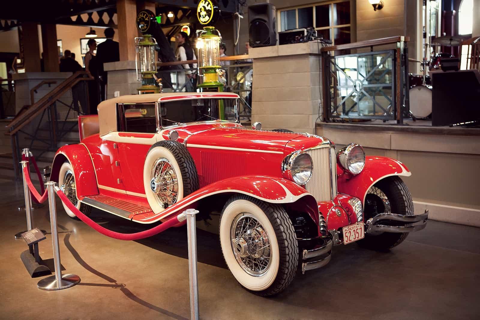 Motorisierte Schätze im Gasoline Alley Museum. Foto Heritage Park Calgary