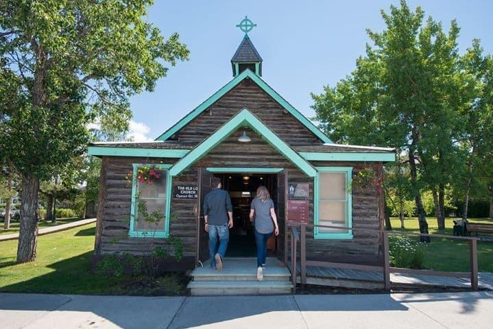 Ein besonderes Museum und eines der ältesten Gebäude in Whitehorse, die Old Log Church. Foto Diözese Yukon/Whitehorse