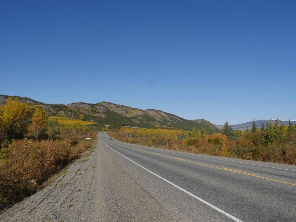 Auch im Yukon, im hohen Norden Kanadas zeigt sich der Indian Summer von seiner schönsten Seite. Foto apr