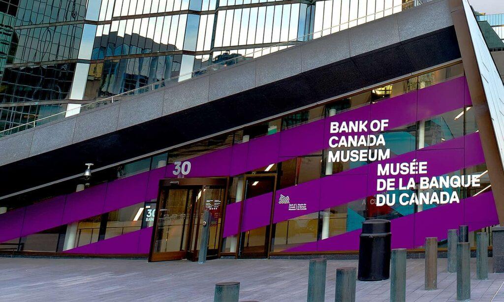 Das Bank of Canada Museum von außen. Foto Bank of Canada Museum