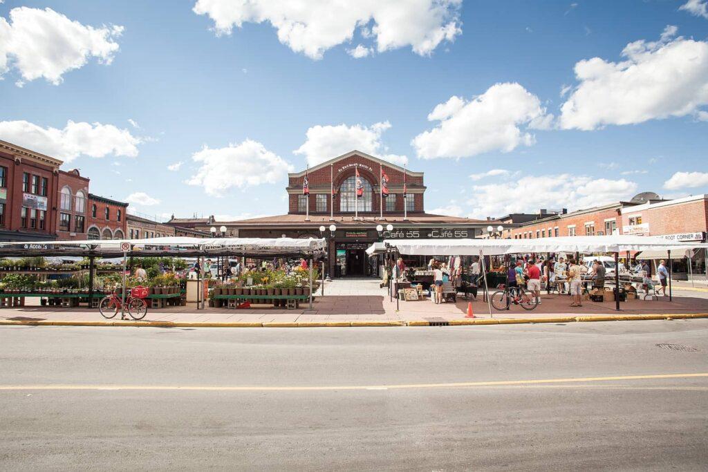 Der ByWard Market, eine der beliebtesten Attraktionen in der Hauptstadt Ottawa. Foto Canadian Tourism Commission