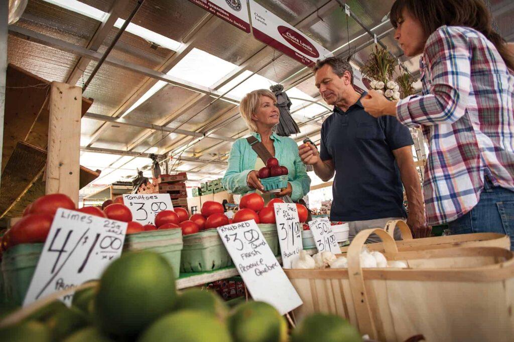 Buntes Markttreiben, kulinarische Köstlichkeiten, Kunst und Nachtleben erwarten euch im ByWard Market. Foto Canadian Tourism Commission