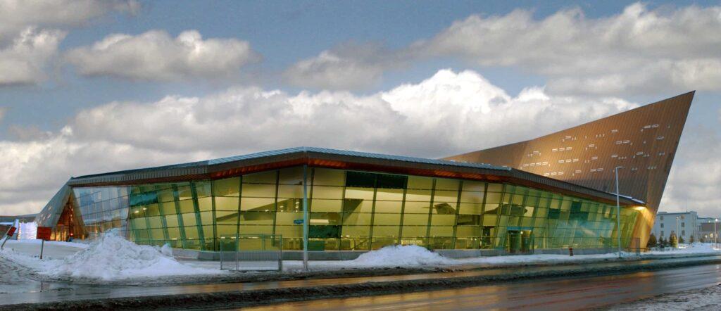 Das Gebäude des Canadian War Museum, Blick von der Booth Street und dem Sir John A. Macdonald Parkway. Foto Canadian War Museum
