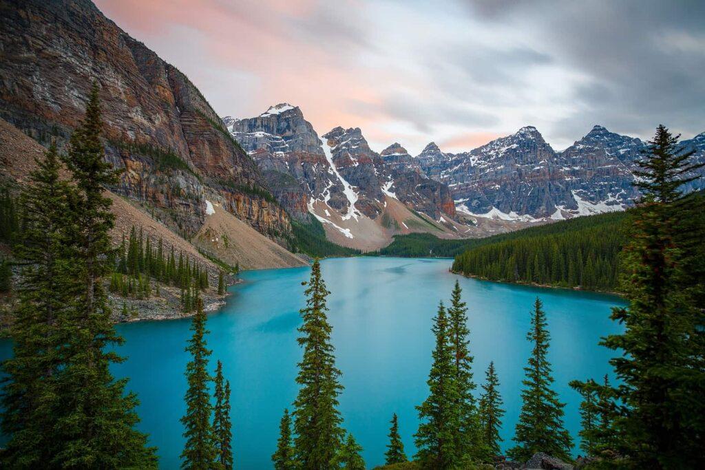 Was für eine herrliche Landschaft, die geradezu zum Wandern einlädt.
