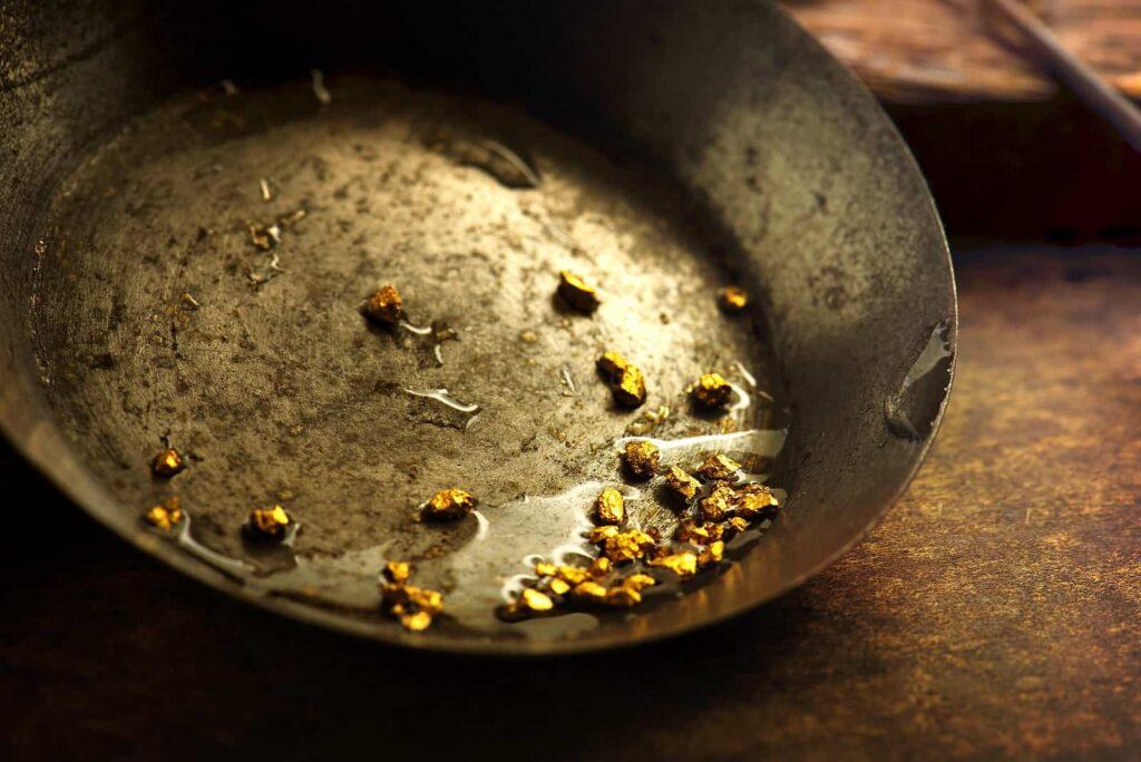 Sich fühlen wie ein Goldsucher. Foto Shutterstock