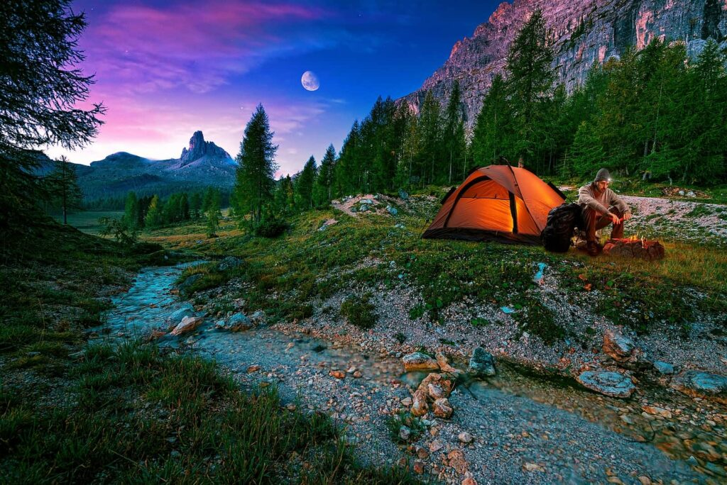 Ein Traumurlaub für Viele. Campen und Wandern in Kanada. Damit ihr nichts Wichtiges vergesst, dafür gibt es unsere Packliste Urlaub Camping und Wandern. Foto Geribody / Deposit