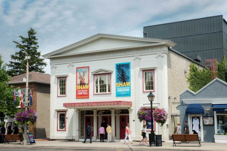 Niagara-on-the-Lake, Shaw Theatre. Foto EnginYavuz / Deposit