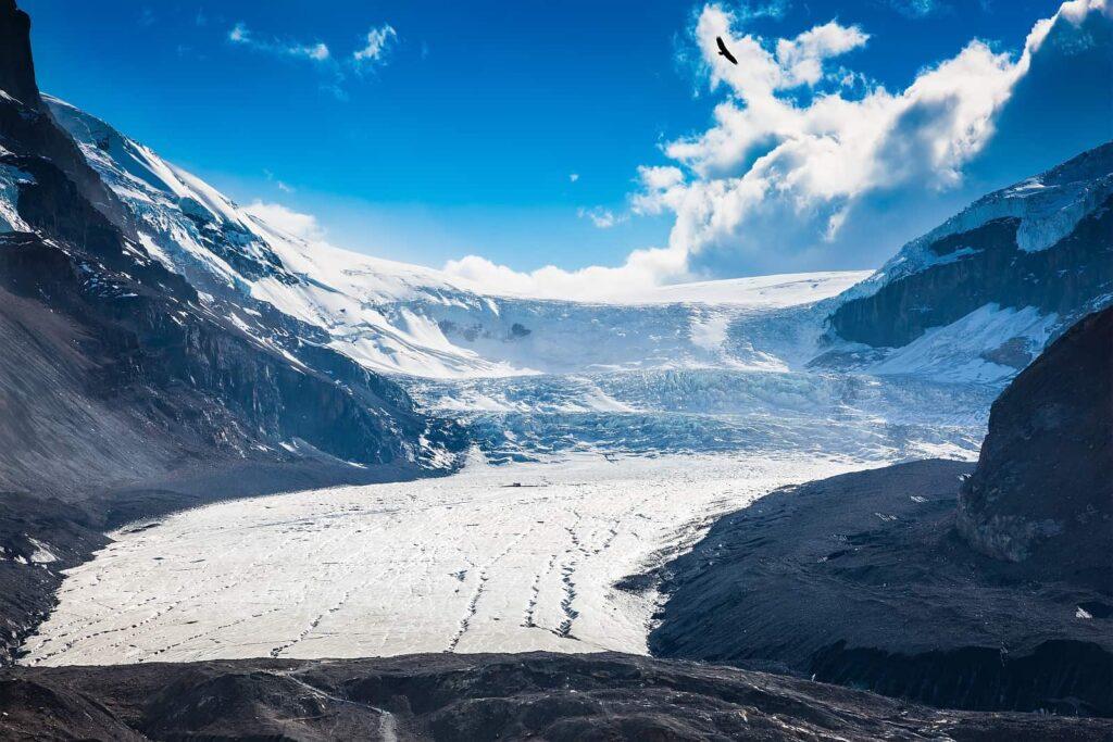 Blick auf das Columbia Icefield im Banff Nationalpark. Foto kavramm / Deposit