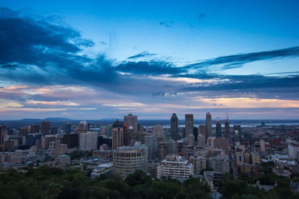 Montreal, die zweitgrößte Stadt Kanadas, heißt ihre Gäste mit französischem Flair willkommen. Foto Piotr Wancerz