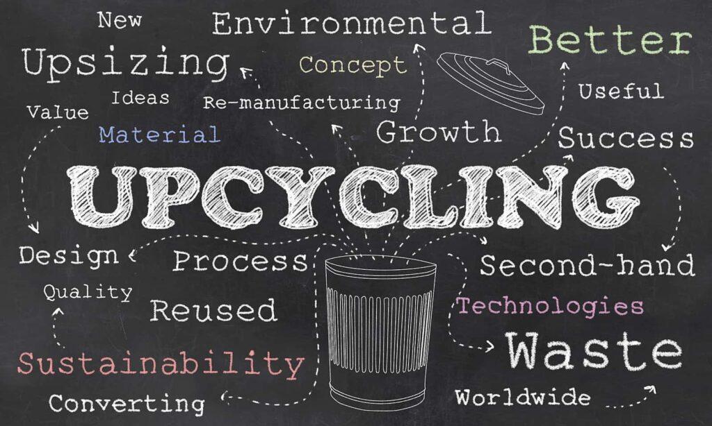 Upcycling, Produktideen für Nachhaltigkeit und Schonung der Umwelt. Foto TLFurrer