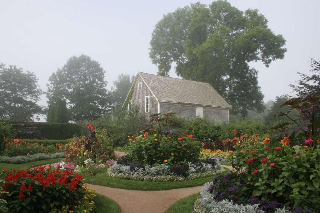 Ein wunderschöner Blick in den Victorianischen Garten, Teil der Annapolis Royal Historic Gardens. Foto Trish Fry / AR Historic Gardens