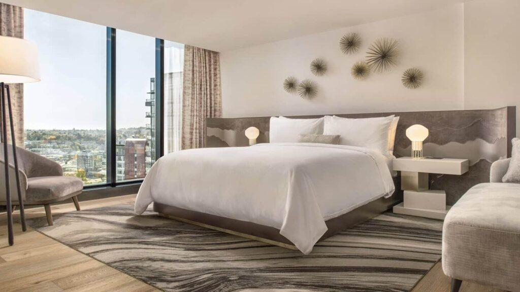 Die Sky-Suite im JW Marriott Parq Vancouver, Luxus pur. Foto ©JW Marriott Parq Vancouver