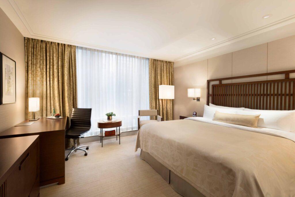 Blick in einen Superior Room des Shangri-La in Vancouver. Foto © Shangri-La Hotels & Resorts