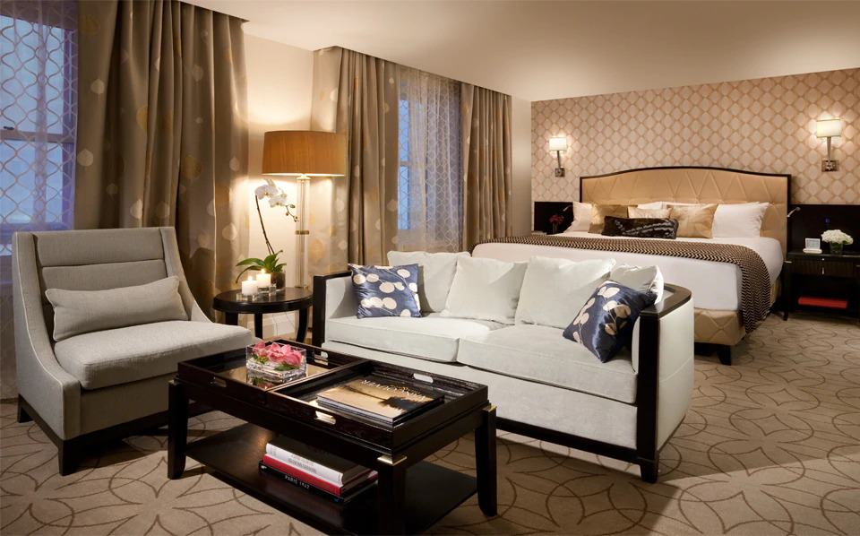Wunderschöne und luxuriös eingerichtete Zimmer erwarten die Gäste im Rosewood Hotel Georgia. Foto © Rosewood Hotel Georgia, Vancouver