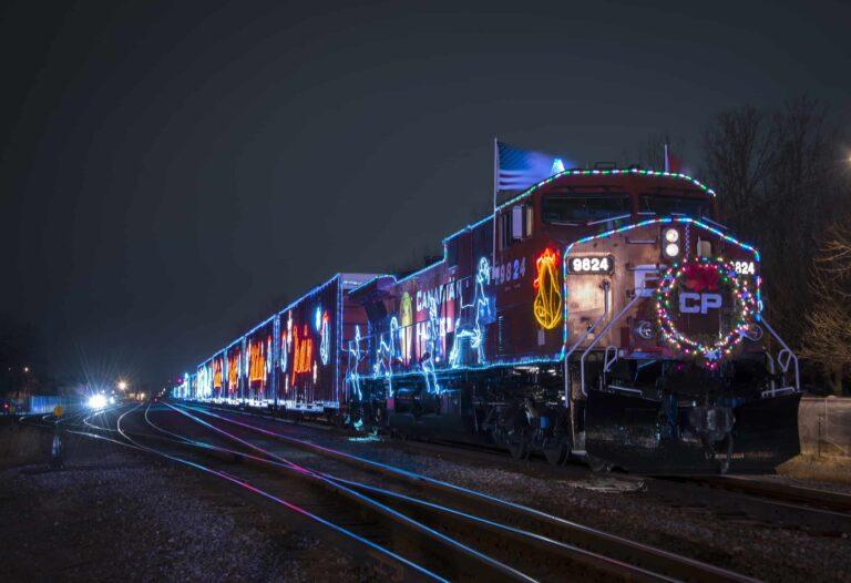 Eine Augenweide für alle Train-Spotter und ein Konzertplatz für alle Country-Fans, Canadian Pacific Holiday. Foto CPR