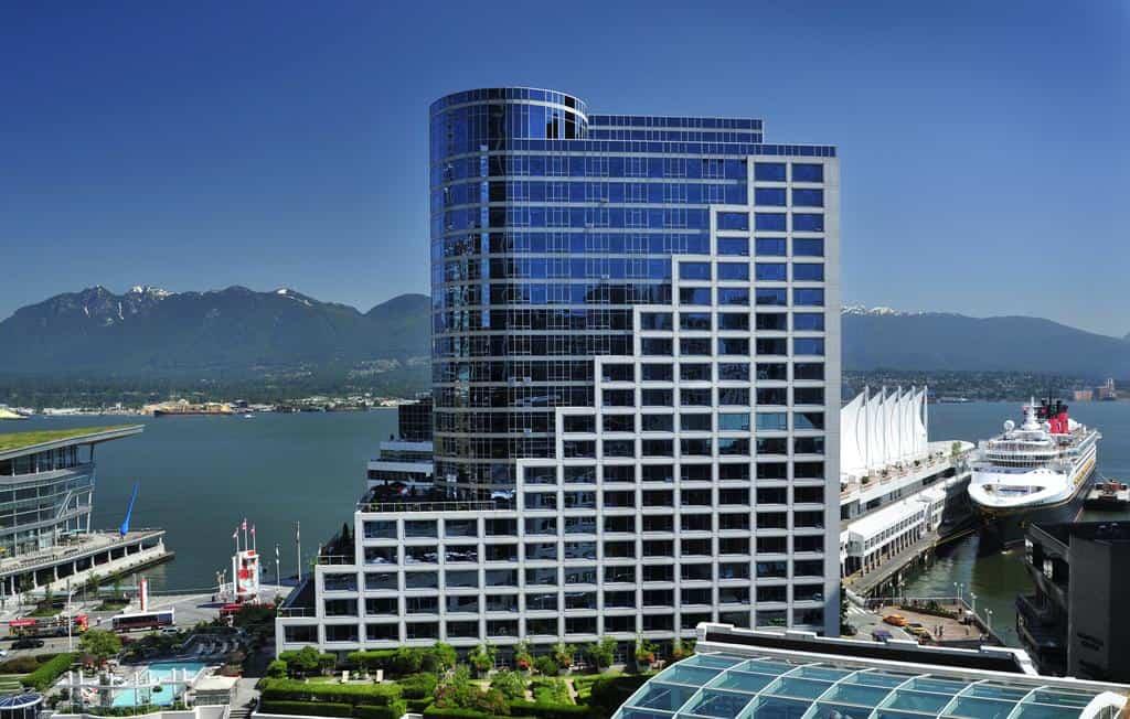 """Ein würdiger Sieger, das Fairmont Waterfront in Vancouver. Foto ©Fairmont Waterfront Hotel"""""""