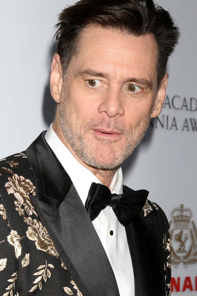 Jim Carrey bei den British Academy Britannia Awards in Los Angeles im Jahr 2018. Foto © Jean_Nelson