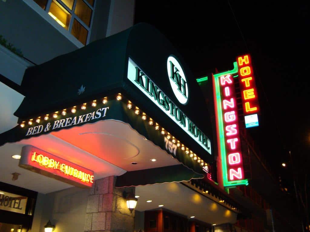 Das Kingston Hotel in Vancouver, unsere Nr. 1 bei den günstigen Hotels in der Stadt. Foto ©KingstonHotel
