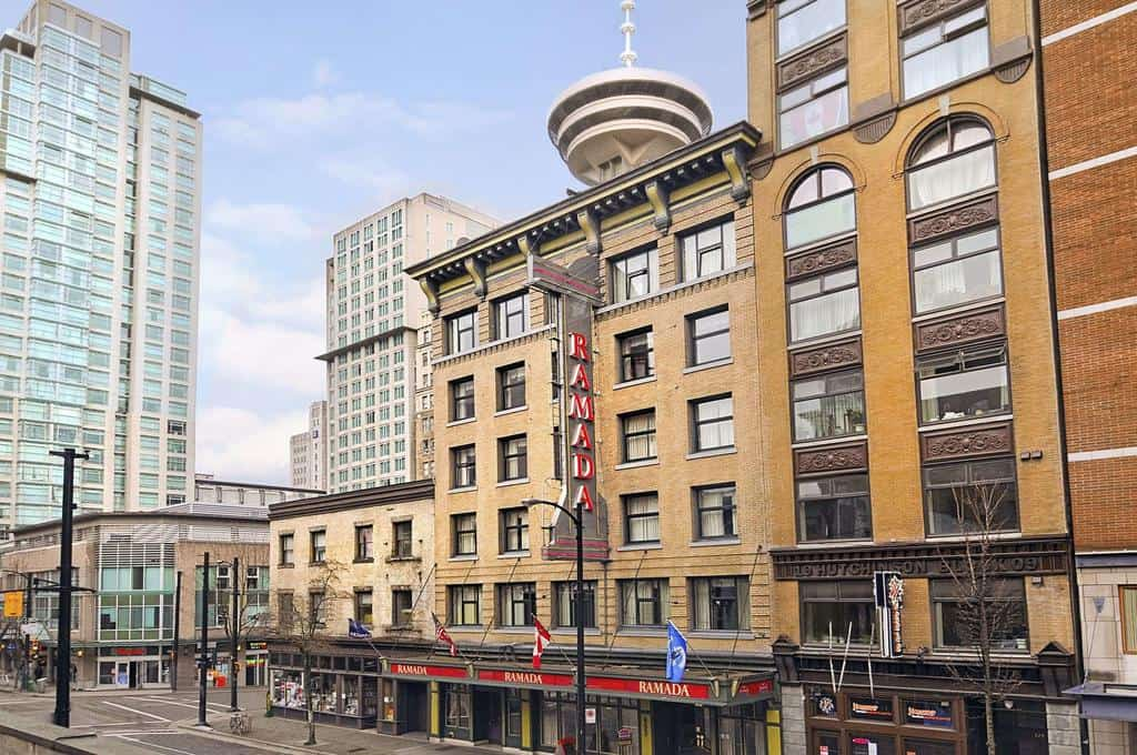 Blick auf das Ramada Limited Downtown Vancouver. Foto ©RamadaHotels / Hotels By Wyndham