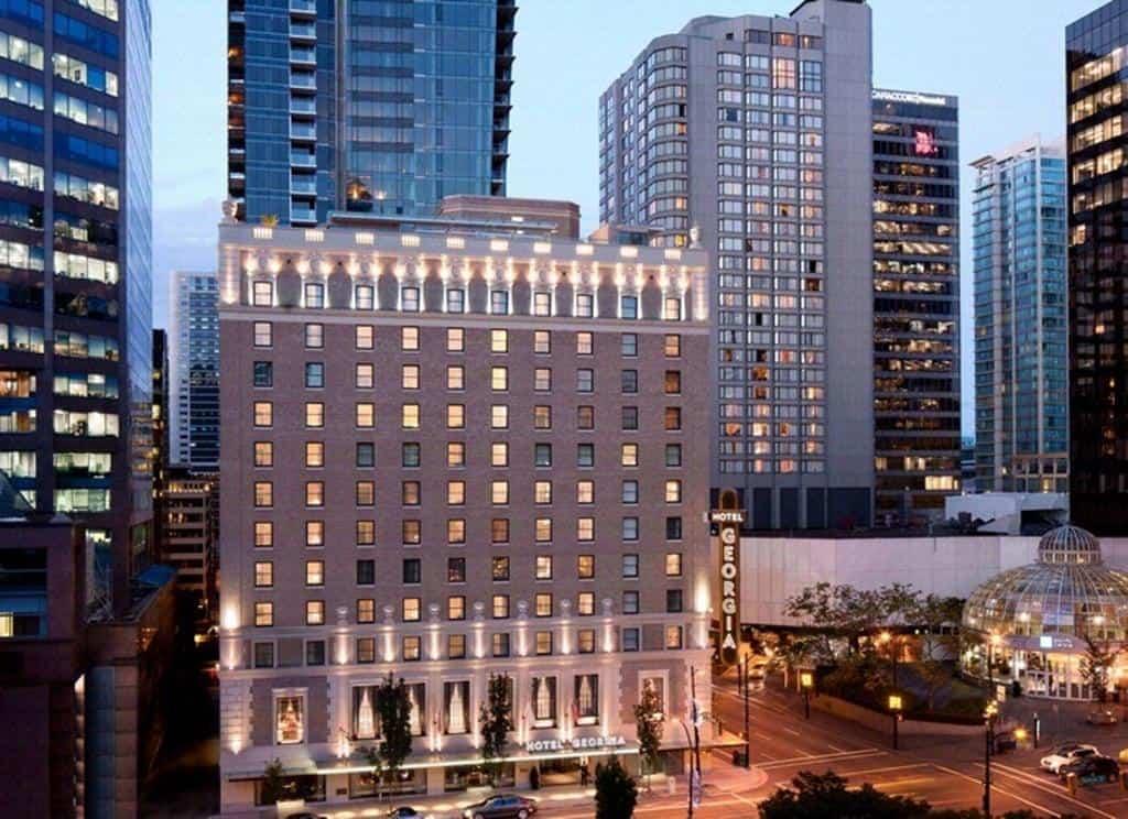 Das Rosewood Hotel Georgia lädt ein. Foto ©Rosewood Hotel Georgia, Vancouver