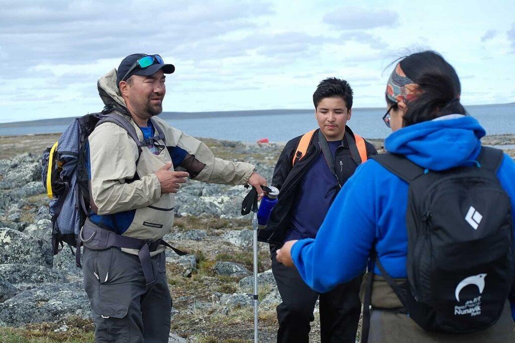 Alle Wanderführer sind Inuit. Foto ©Bernadette Calonego