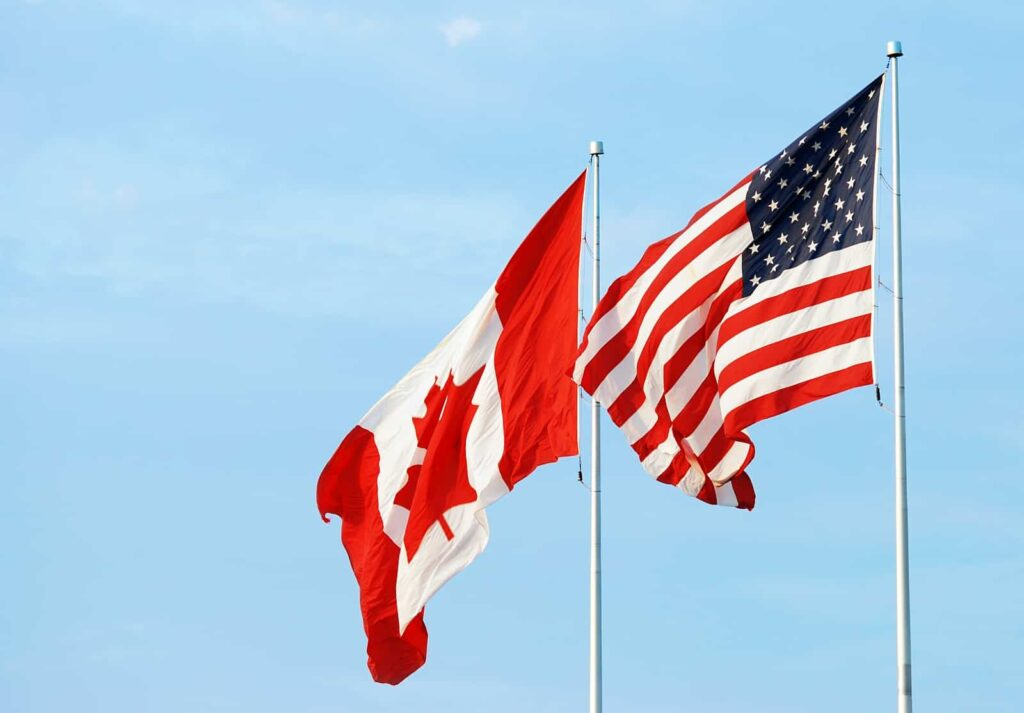 Auch die Grenzen zwischen Kanada und den USA sind für den Personengrenzverkehr geschlossen. Foto mcgphoto / Deposit