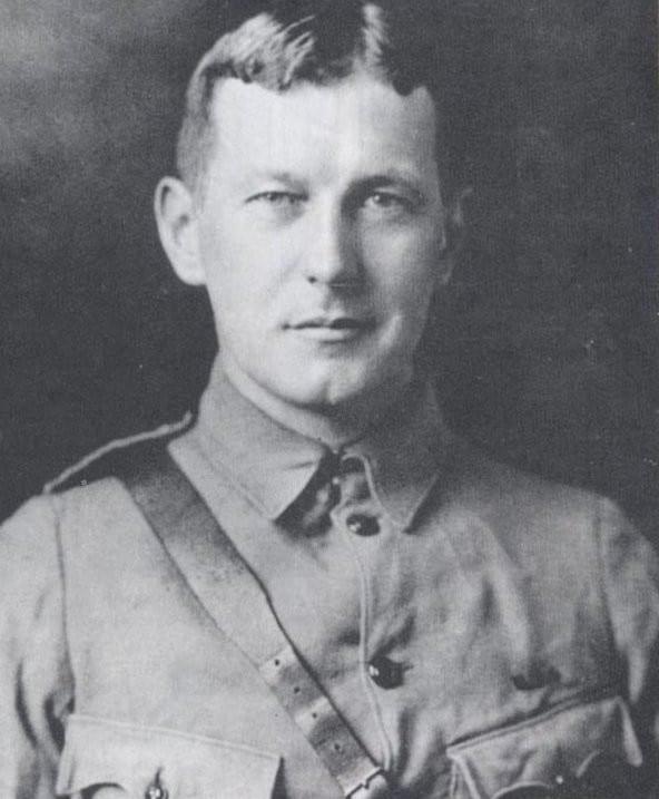 """Lieutenant Colonel John Alexander McCrae, Schöpfer des Gedichtes """"In Flanders Fields"""". Foto Wikipedia - gemeinfrei"""