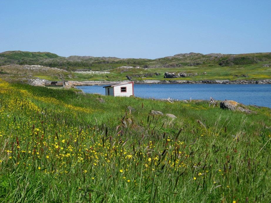 In dieser Bucht stand einst die Siedlung Little Brehat. Foto Bernadette Calonego