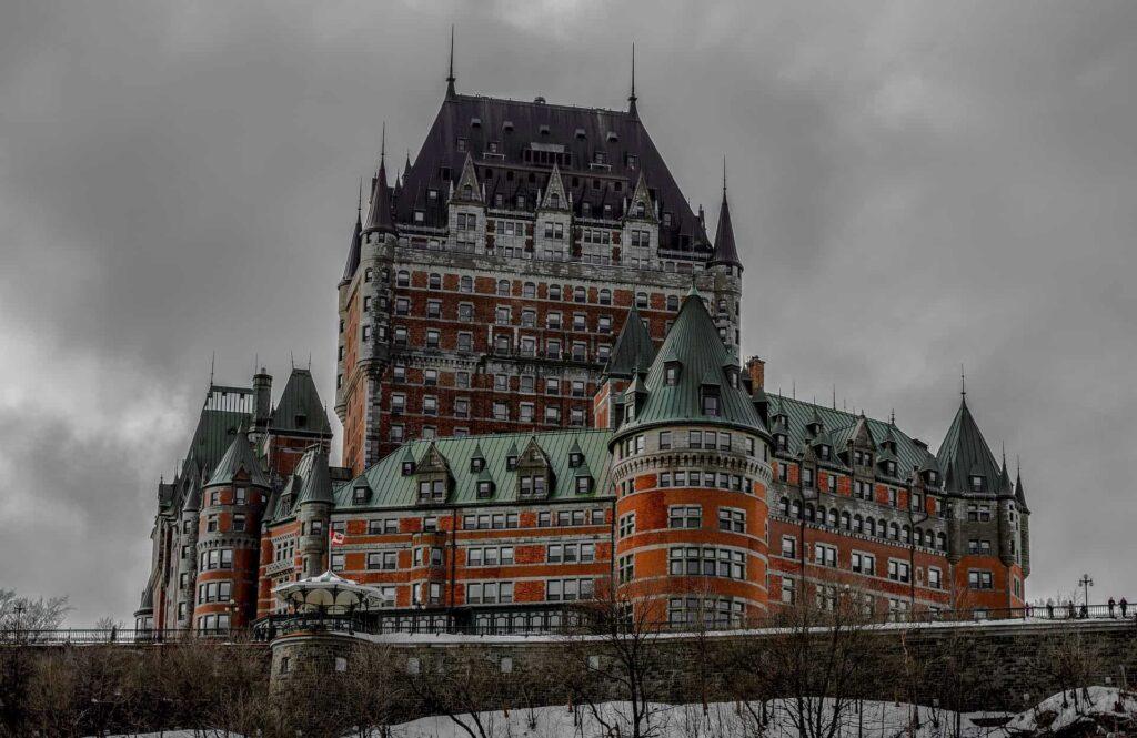 Das Chateau Frontenac in Québec City. Foto Deposit