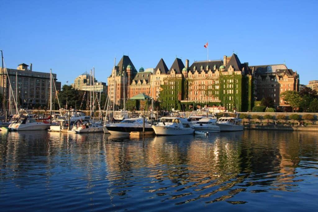 Victoria auf Vancouver Island, die Hauptstadt der Provinz British Columbia. Foto Hannamariah / Deposit