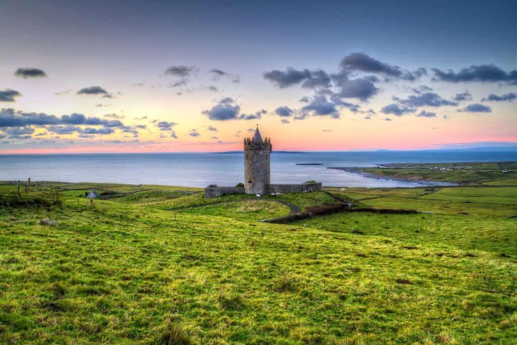Irland, die grüne Insel ist Heimat des Halloween Festes am 31. Oktober. Foto Patryk Kosmider / Deposit