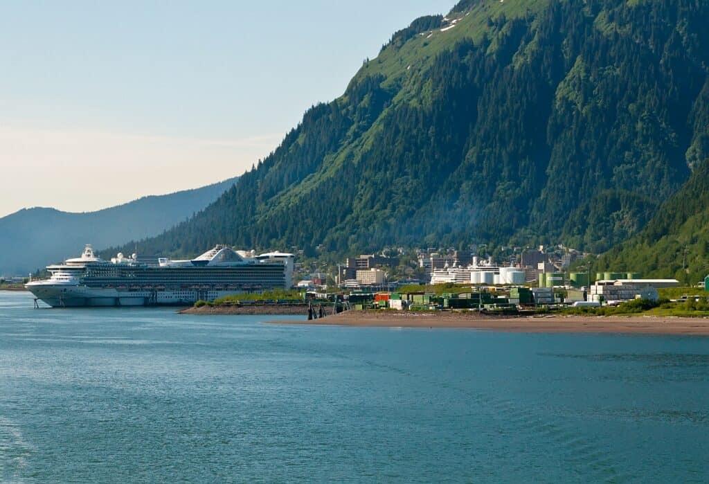 Juneau, die Hauptstadt des US-Bundesstaates Alaska. Foto TallyPic