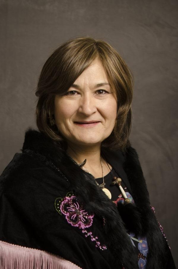 Ministerin Pauline Frost. Foto Yukon Legislative Assembly