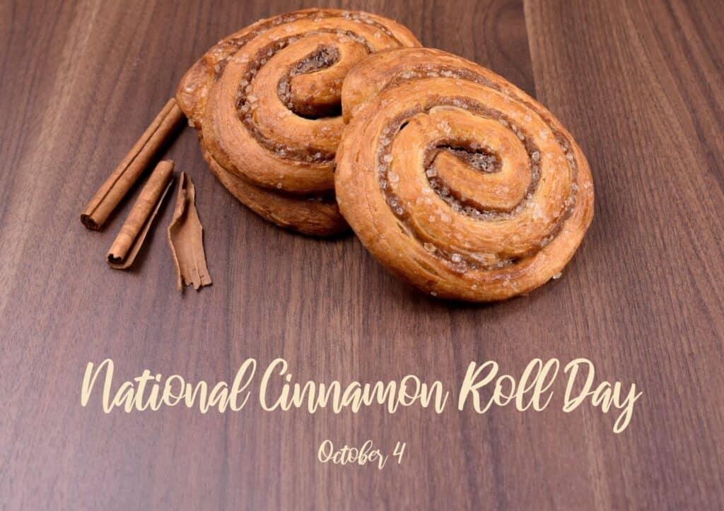 Seit 1999 findet jedes Jahr am 4. Oktober in vielen Ländern der Cinnamon Roll Day statt. Foto Betka82 / Deposit
