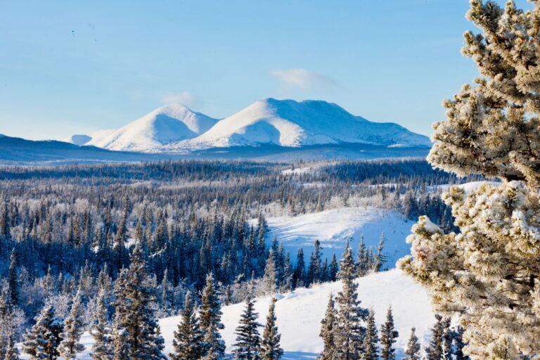 Das riesige und fast menschenleere Yukon Territorium ist ein riesiger Playground für viele Winteraktivitäten. Foto PiLens / Deposit