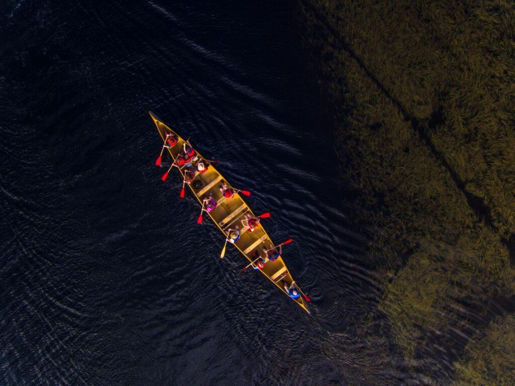 Ob im Binnenland oder an der Küste. Den Kejimkujik National Park and National Historic Site kann man am besten mit dem Kanu erkunden. Foto Tourism Nova Scotia Foto Tourism Nova Scotia