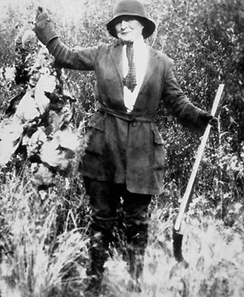 Martha Louise Black (*24.02.1866 Chicago +1.11.1957 Whitehorse). Foto Yukon Archives
