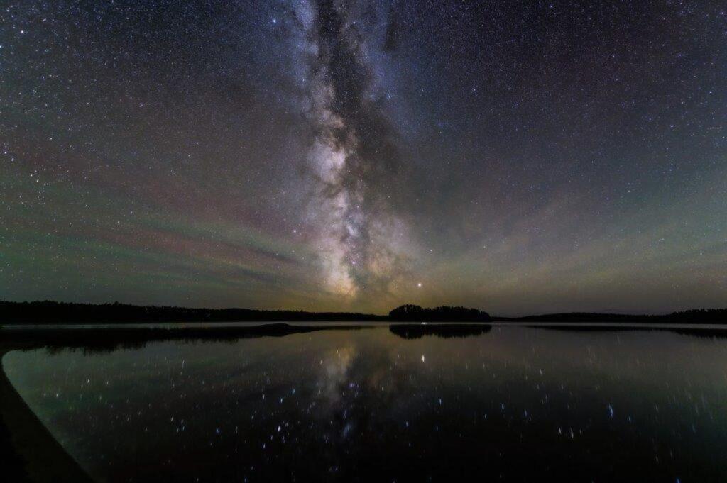 Blick auf die Milchstraße - unendlich erscheinende Weiten. Foto Kay Lee