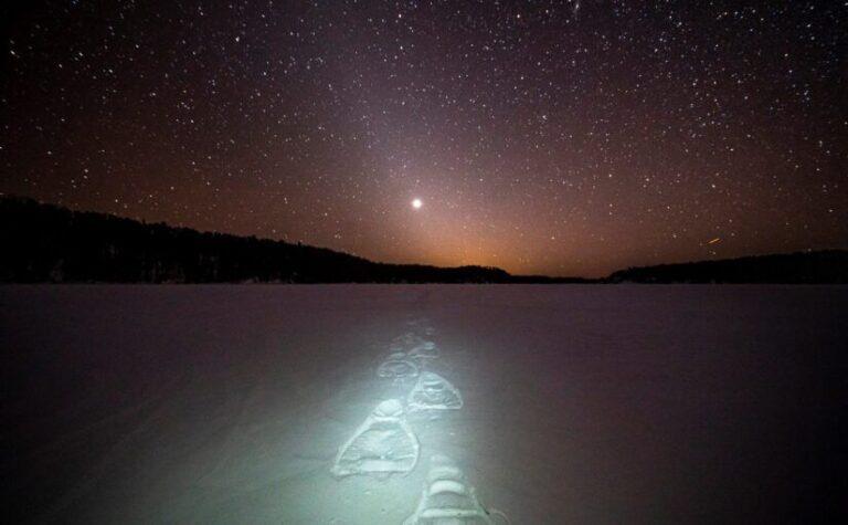 Was für ein herrlicher Blick, Dark Sky über Ontario. Foto Parks Canada