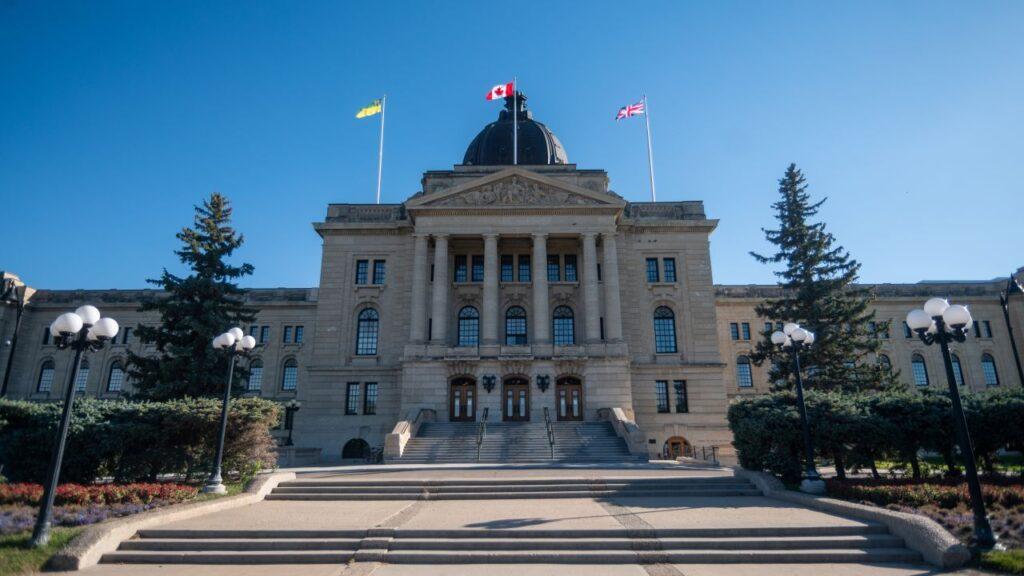 Das Saskatchewan Legislative Building in Regina. Foto Wirestock / Deposit