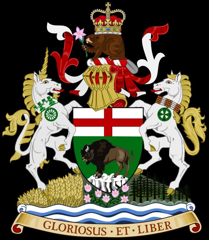 Das Wappen (Coat of Arms) von Manitoba
