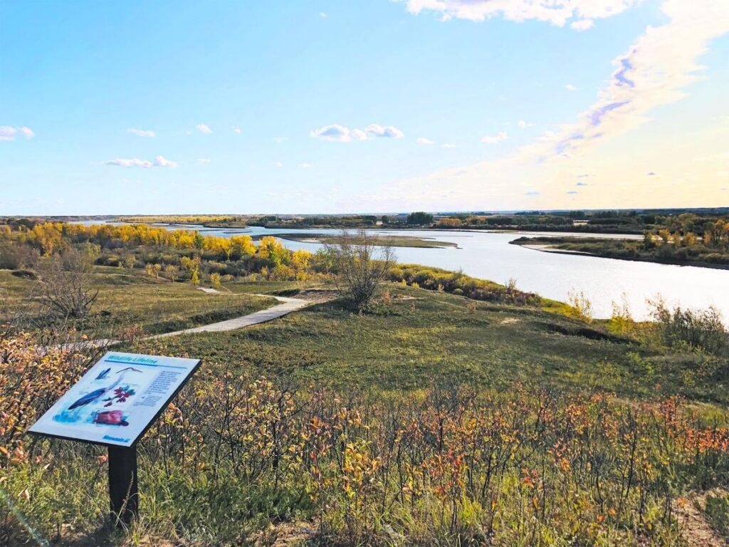 Was für eine herrliche Landschaft, die Cranberry Flats Conservation Area. Foto tourismsaskatoon.com