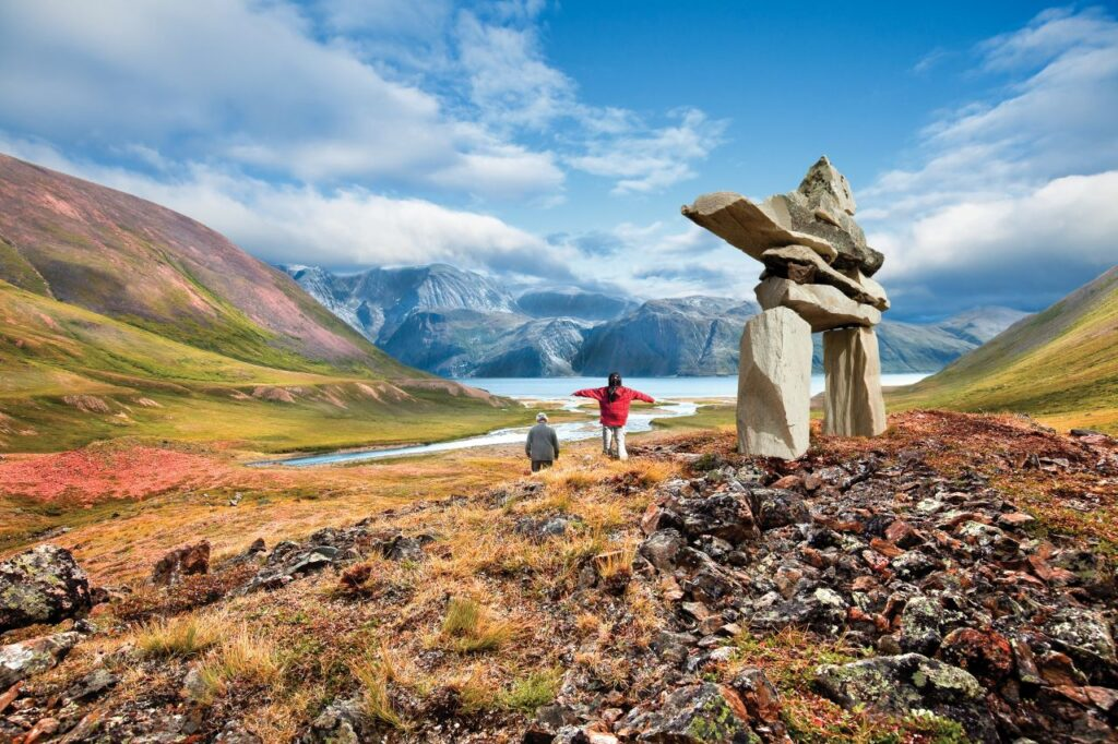 Traumland Kanada: Wandern in den Torngat Mountains, Newfoundland & Labrador. Foto Newfoundland & Labrador Tourism / Barrett and MacKay
