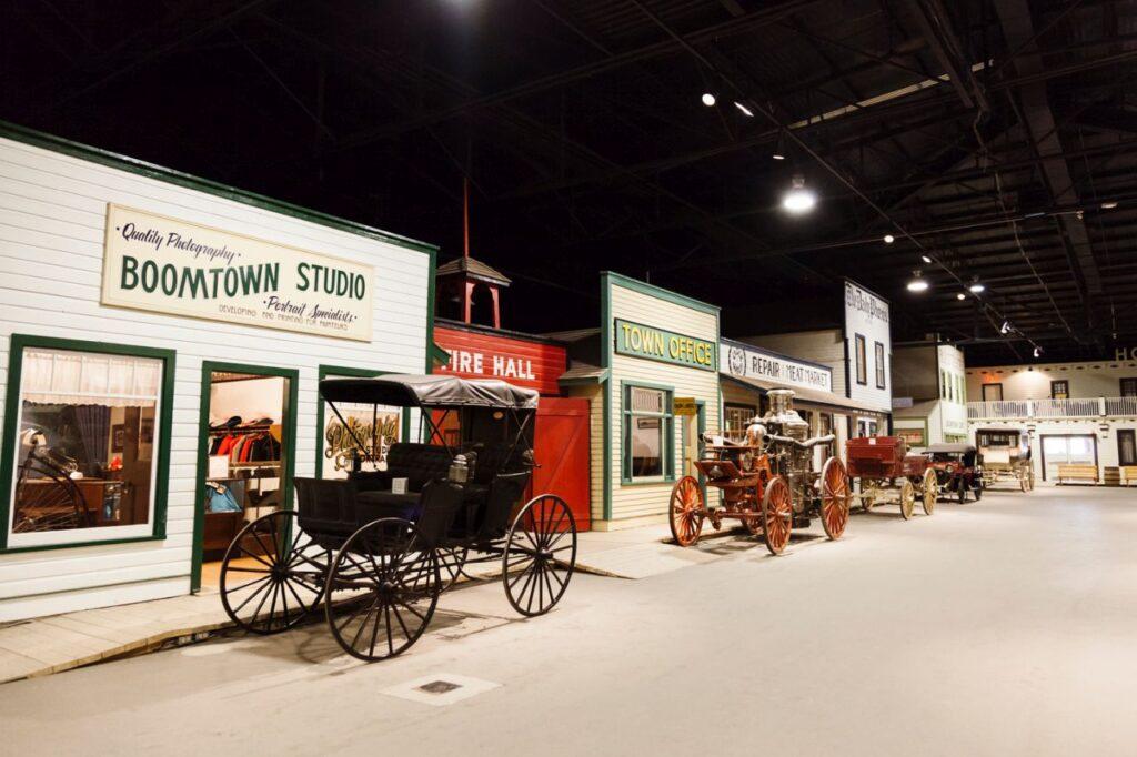 Das Western Development Museum gibt einen spannenden Einblick in die Geschichte der Stadt Saskatoon und der Provinz Saskatchewan. Foto Tourism Saskatoon/Carey Shaw Photography
